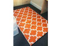 Orange inside/outside carpet
