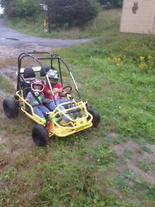 Kids side by side dune buggy for trade