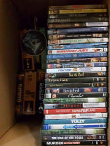 60+ DVD collection