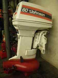 Outboard jet with controls