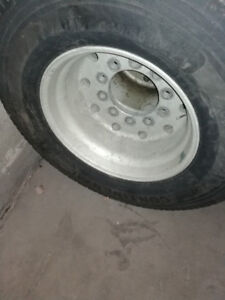 Tires Super singles and rims  445/50/22.5