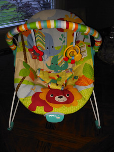 Baby bouncy seat chair