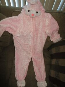 Bunny Costume size 2 to 4