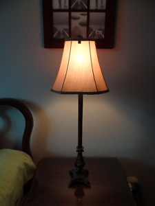 A Table/Desk Lamp with Bulb