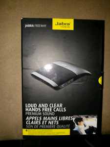 Jabra Freeway in-car speakerphone speakerphone works perfectly~~