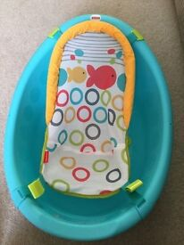 Fisher Price Rinse & Grow Baby Bath with Adjustable sling