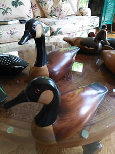 Jim Harkness decoy collection