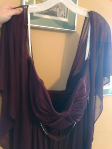 Christmas or New Years  Dress -plum - size 16