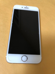 IPhone 6, 16 GB, Gold,  Won't Activate, for Parts.