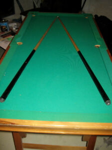 kid sized folding pool table Lower to $60