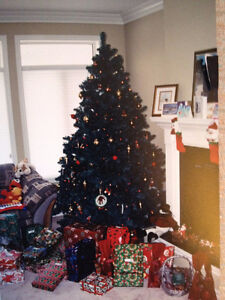 XMAS TREE-8FT. DOUGLAS FIR-IMMACULATE CONDITION