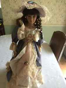 Hand Painted Porcelain Doll (Nobility from PK Douglass)