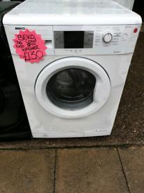 White beko 7kg load washing machine