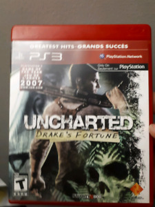 Uncharted 1-3 for PS3