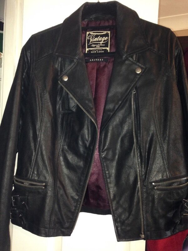 Vintage Leather Jacket From New Look In Brandon County Durham