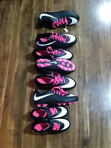 Girls youth soccer cleats brand new