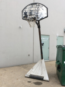 Basket Ball Pole and Hoop