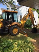 Backhoe services call today
