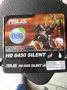 Asus 6450 Silent 1GB Graphics card
