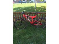 Gt idrive dual suspension mtb mountain bike, downhill