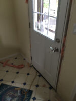 I install exterior doors, please text us today for free quote. n