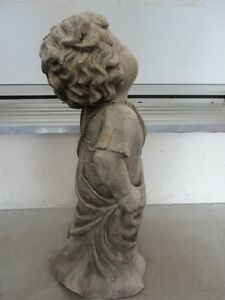 TIC COLLECTION CHERUB TALKING TO GOD GARDEN STATUE London Ontario image 5