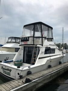 1989 Luhrs 342 Tournament fishing boat for sale