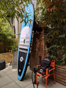"""Kahuna 10'2"""" inflatable SUP Wahine in excellent condition"""