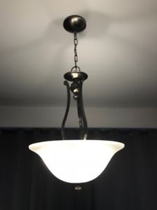 Ceiling Pendant (3-Light Brushed Nickel)