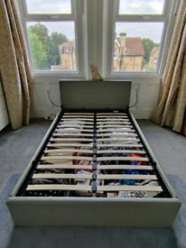 Argos Habitat Lavendon Small Double Ottoman Bed Frame with Mattress