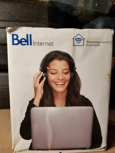 bell wireless router