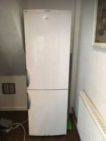 LEC fridge freezer frost free