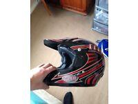 Viper (small adult) motocross helmet