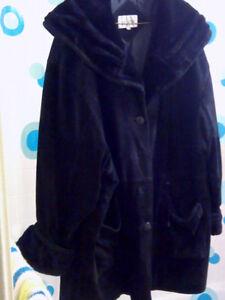 womans winter coat bbw