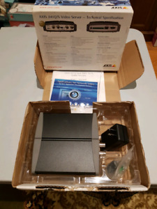 Axis 241S camera video server new in open box