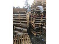Standard and euro pallets