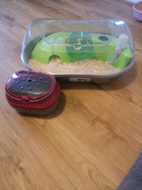 Hamster Cage + Carrier