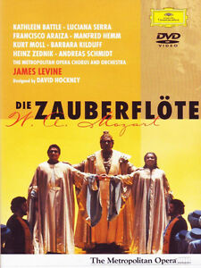 Die Zauberflote (The Magic Flute) opera DVD (like new)