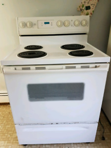 Electric stove 120.00 obo .tv with stand 30.00...