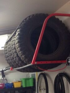 Tires and Stand