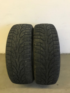 2 - Winterclaw Extreme Grip Tires - 205 65R 15