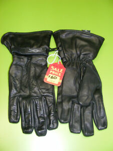 Leather Cruiser Gauntlet Gloves - Small to 3XL at RE-GEAR