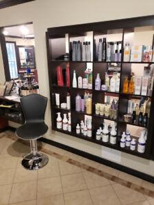 hair salon and nail salon closing down sale / spa pedicure chair