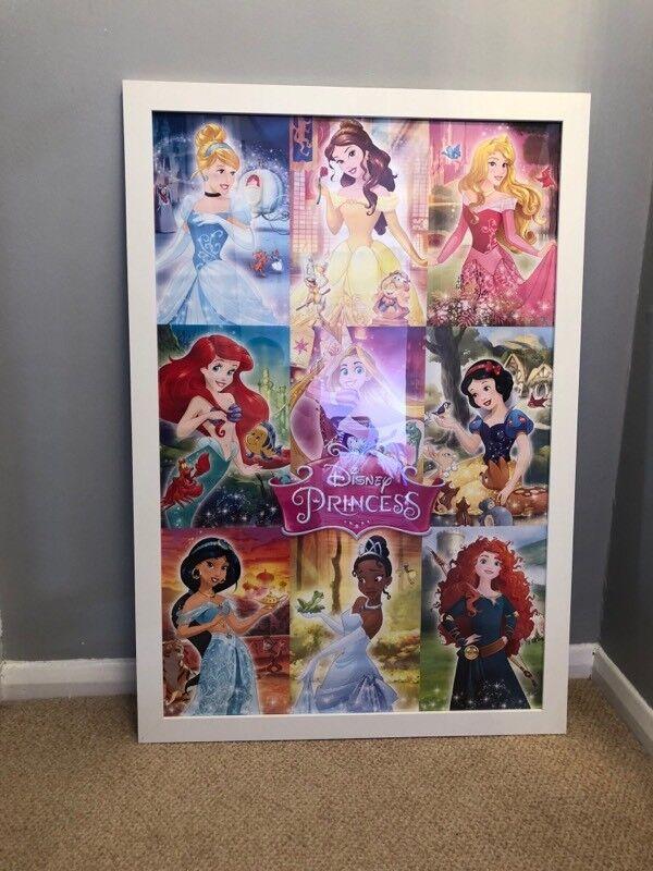 Framed Disney Princess Picture   in Sandgate, Kent   Gumtree