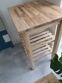 Ikea bekvam kitchen trolley