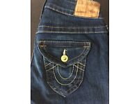 "Ladies True Religion Jeans 26""waist"