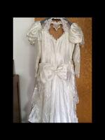 Wedding dress for sale size 13