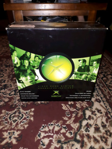 Xbox Original Boxed console and Xbox 360 games