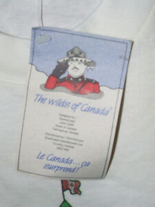 The Wilds Of Canada T-Shirt - From The 90's - NWT - $30.00 Belleville Belleville Area image 4