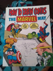 How To Draw Comics The Marvel Way, first Fireside edition 1984